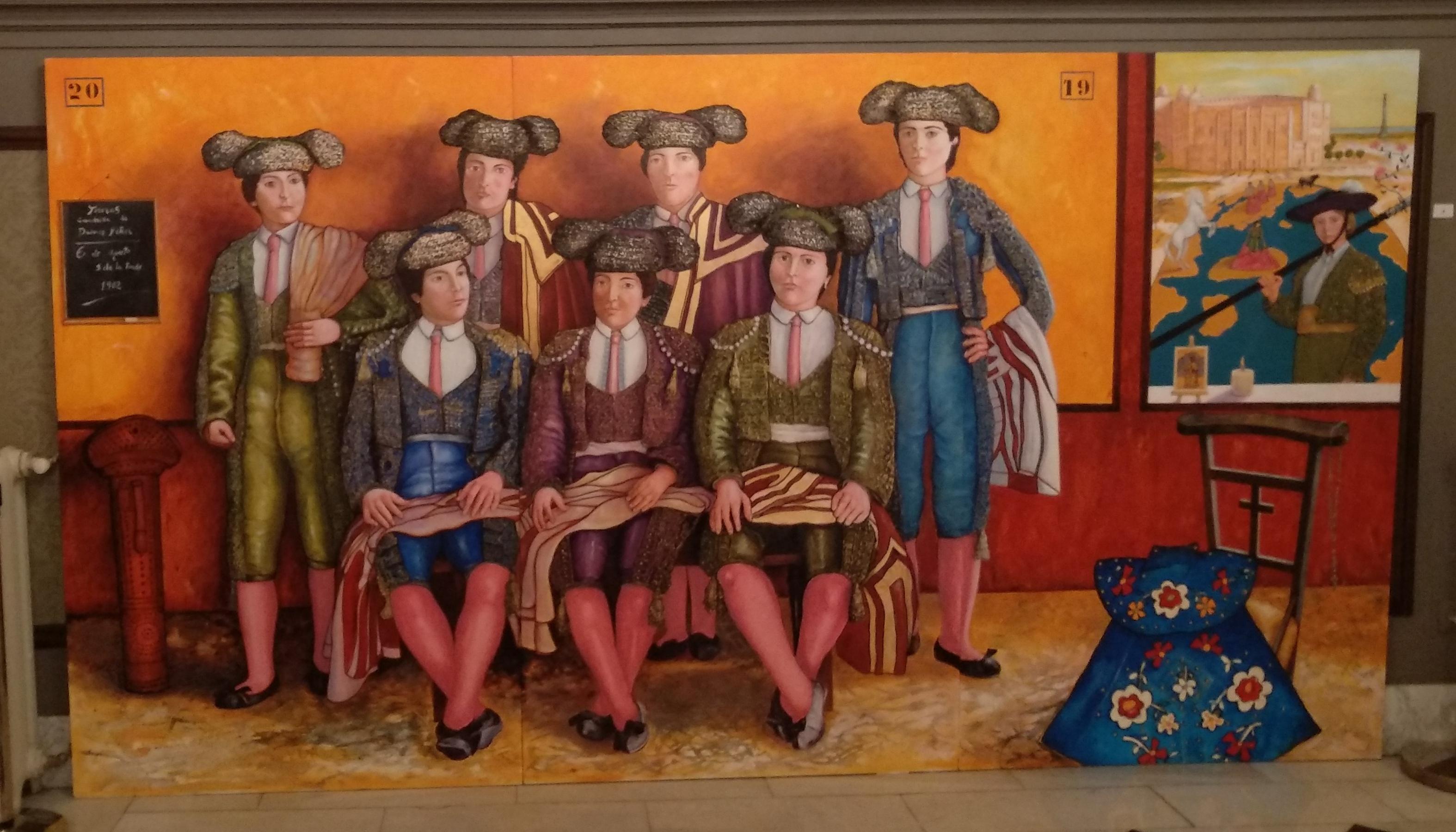 Mujeres toreras