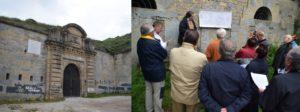 Visita al Fuerte de Alfonso XII, de San Cristóbal